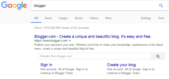 blogger-search-on-google