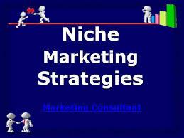 Niche Market strategy